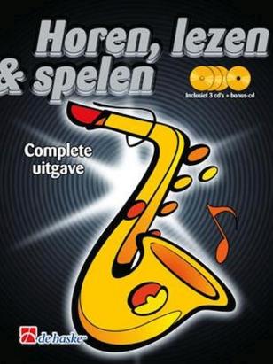 Lesboek Saxofoon.