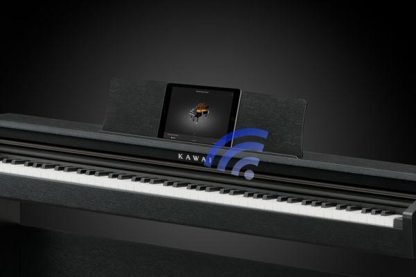 De Kawai KDP120 maakt gebruik van Bluetooth techniek