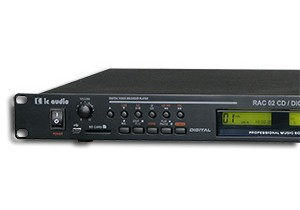 IC Audio RAC -CD/MP3 + digital recorder