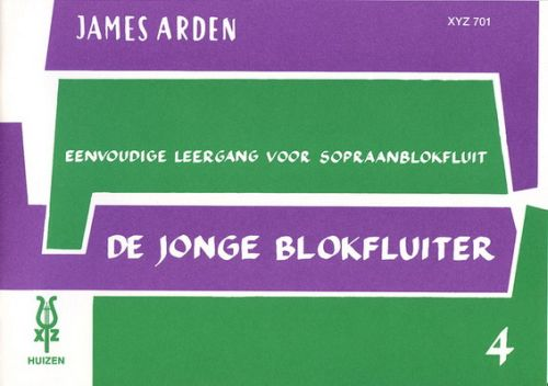 De Jonge Blokfluiter 4 - James Arden