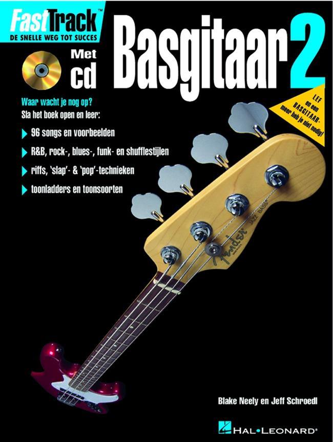 Hal Leonard Fast Track Bass 2 +cd