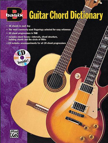 Basix Guitar Chord Dictionary (boek +cd)