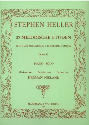 Stephen Heller - 25 melodische etuden Opus 45