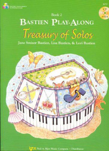Treasury of solos 2 playalong +cd