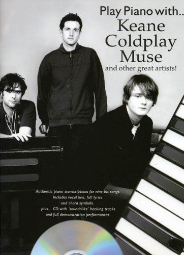 Play Piano with Keane, Coldplay, Muse and more.. +cd