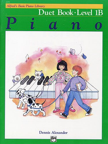 Alfred's Piano Duet Book 1B