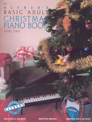Alfred's Basic Adult Christmas Piano Book 2