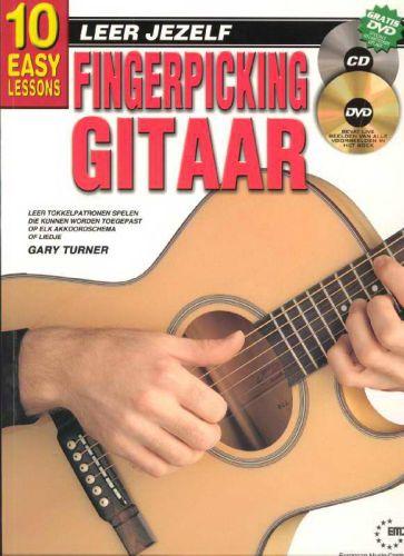 Leer jezelf fingerpicking gitaar +cd en dvd