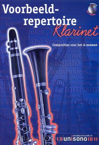 Voorbeeld repetoire A-examen klarinet +cd