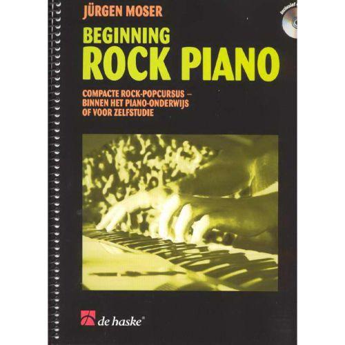 Beginning Rock Piano - Jürgen Moser + CD