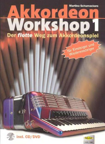 Akkordeon Workshop 1 +cd/dvd