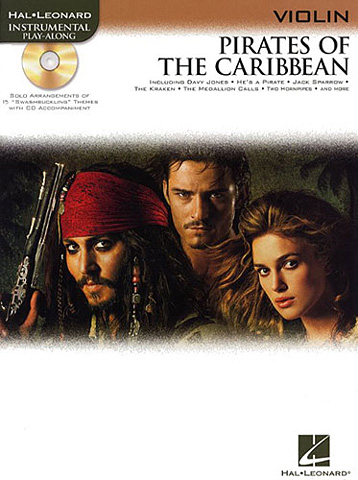 Violin Pirates of The Caribbean +cd