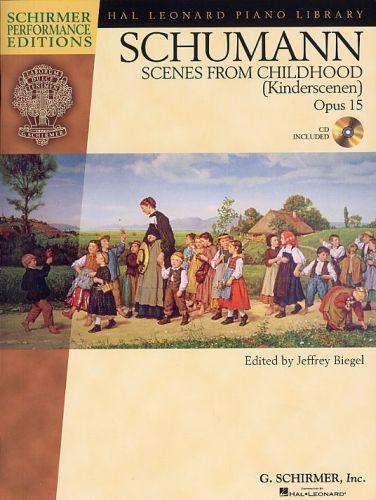 Schumann scene from childhood Opus 15 +cd