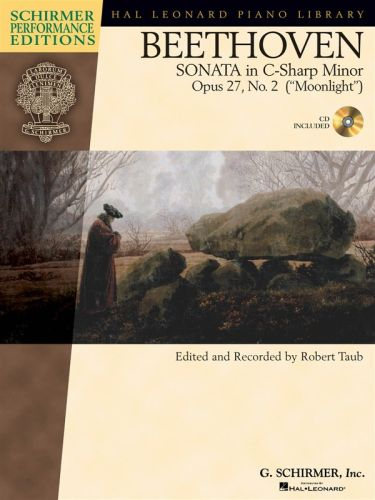 Beethoven Sonate in C-sharp minor op.27 +cd