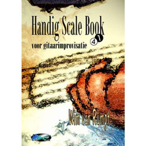 Handig Scale Book gitaar improvisatie