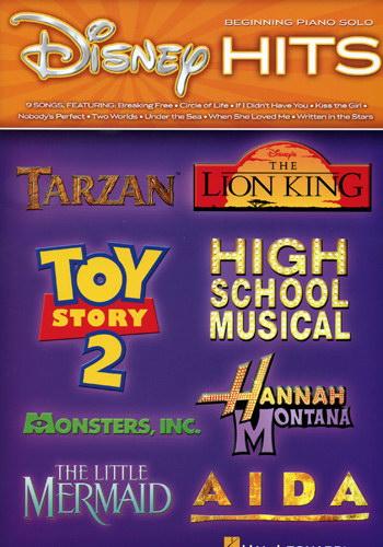Disney Hits beginnning piano solo
