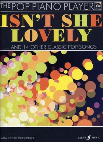 The Pop Piano Player: Isn't She Lovely +cd