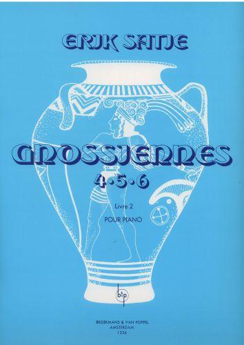 Gnossiennes for the piano 4-5-6