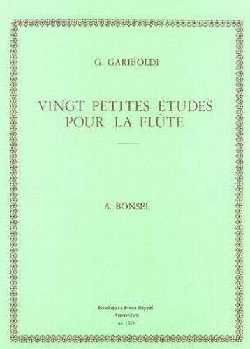 Gariboldi - Vingt etudes pour la flute