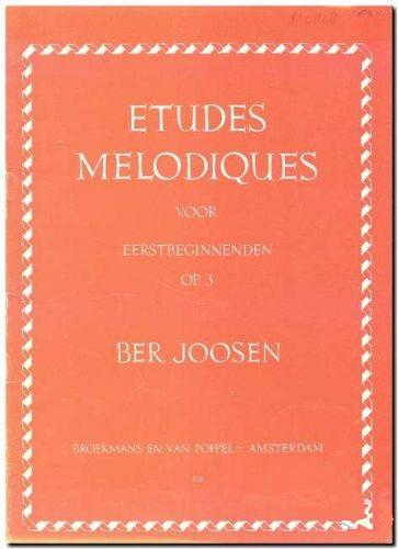 Etudes Melodiques voor eerstbeginnenden Op.3