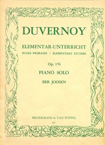 Duvernoy Elementar-unterricht Op.176