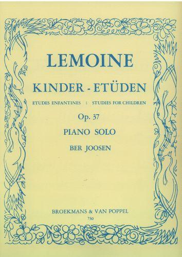 Lemoine Kinder-Etuden Opus 37