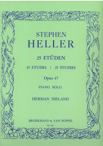 Stephen Heller 25 Etuden Opus 47