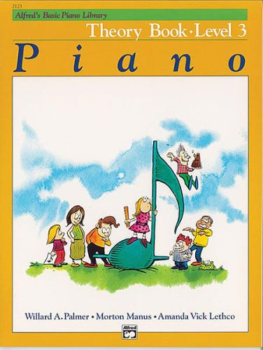 Alfred's Piano Theory Book 3
