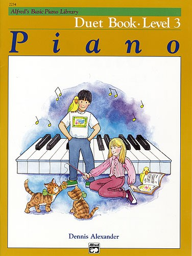 Alfred's Piano Duet Book 3
