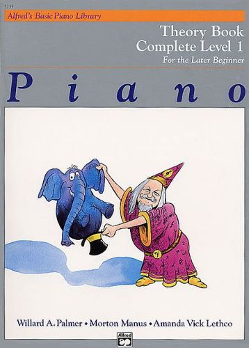 Alfred's Piano Theory Book 1 compleet