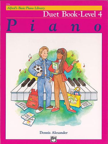 Alfred's Piano Duet Book 4