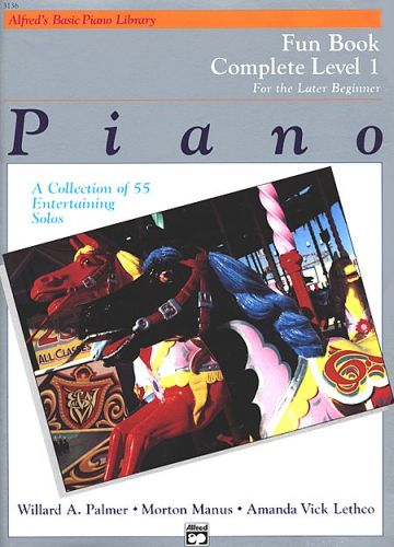 Alfred's Basic Piano Fun Book 1 compleet