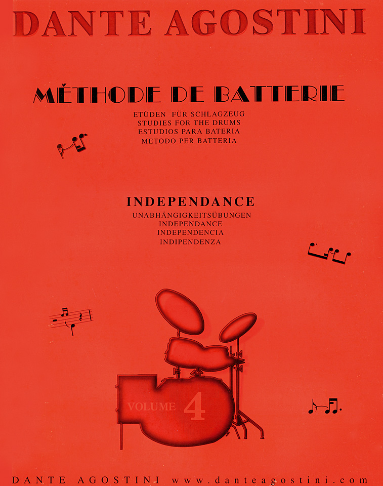 Dante Agostini Methode de Batterie Vol.4