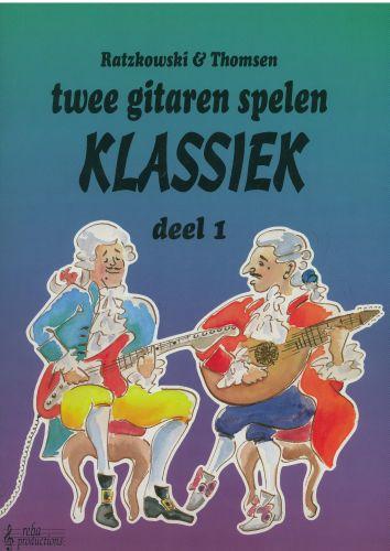 Twee gitaren spelen Klassiek 1