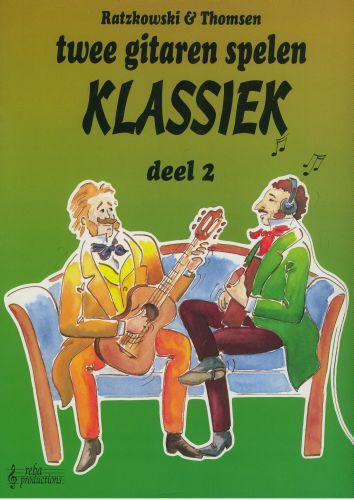 Twee gitaren spelen Klassiek 2