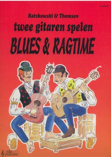 Twee gitaren spelen Blues & Ragtime