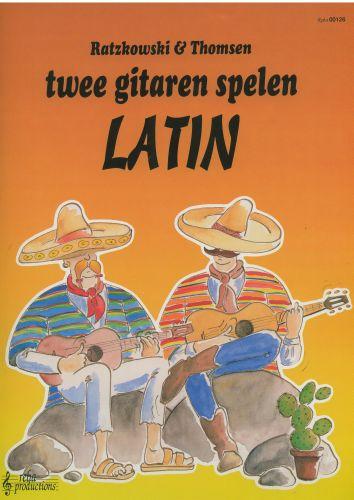 Twee gitaren spelen Latin