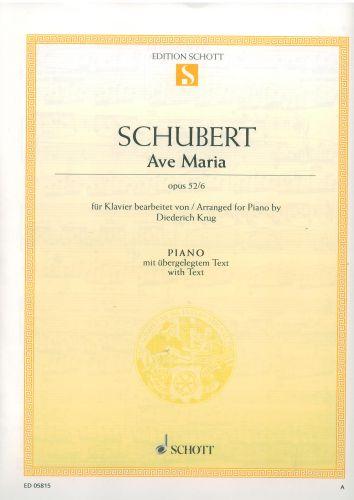 Schubert Ave Maria Opus 52/6