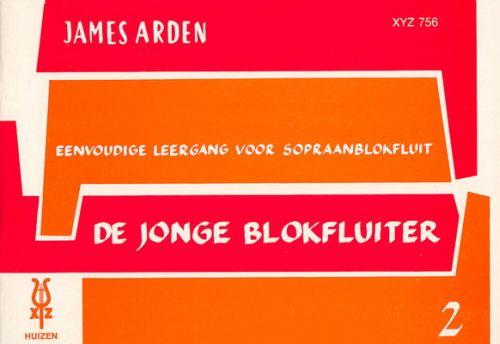 De Jonge Blokfluiter 2 - James Arden