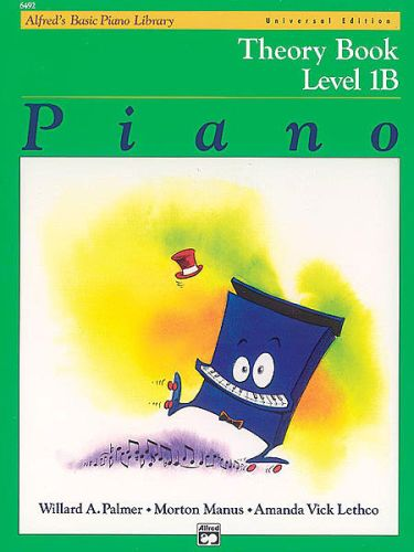 Alfred's Piano Theory Book 1B