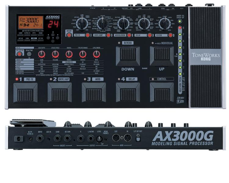 Korg AX3000G (Opruiming)