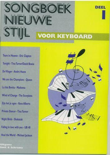 Songboek nieuwe stijl voor keyboard 1