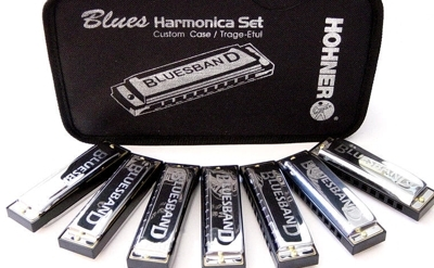 Hohner 7 Blues Harmonica Starter Set