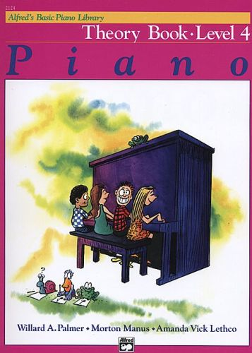 Alfred's Piano Theory Book 4