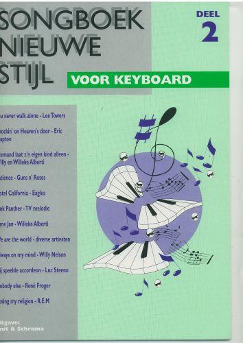 Songboek nieuwe stijl voor keyboard 2