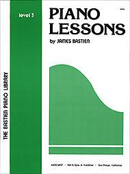 Piano Lessons Level 3 - James Bastien