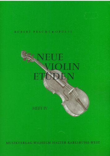 Neue Violin Etuden Opus 15. Heft 4