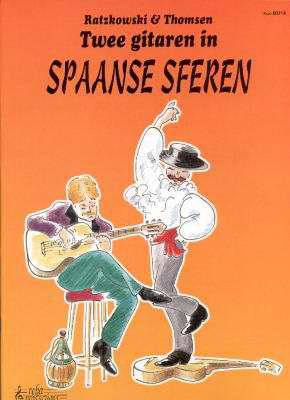 Twee gitaren in Spaanse sferen