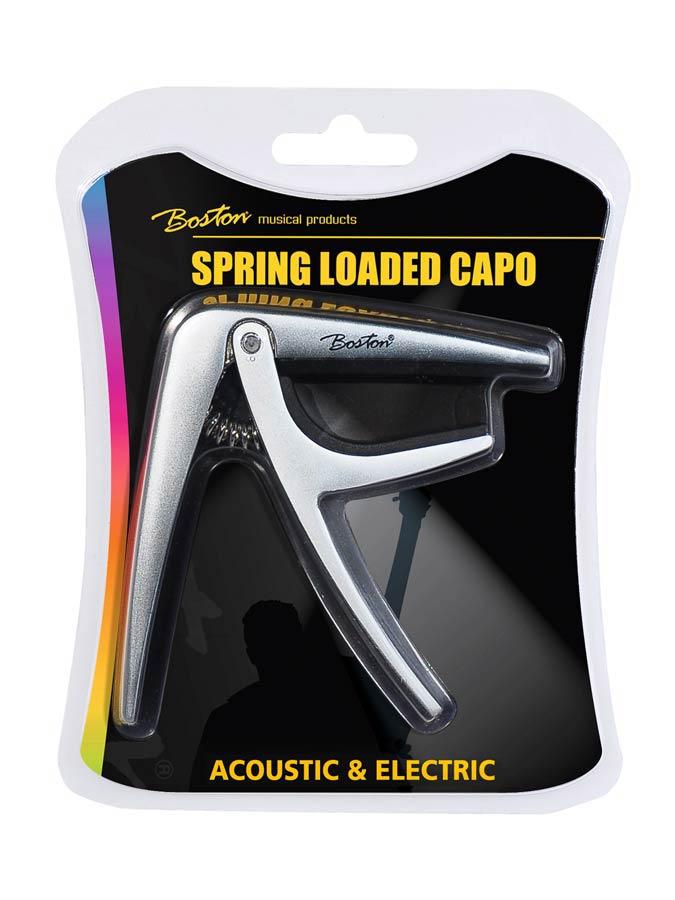 BC-85-TI | Boston capo voor akoestische/elektrische gitaar