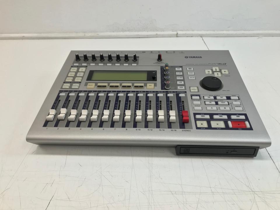 Yamaha AW16G - 16 sporen digitale recorder (Occasion)